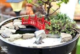 miniature japanese wood garden bridge japanese miniature garden