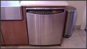 Stainless Steel Lg Dishwasher Ge Profile Dishwasher Maintenance Youtube
