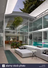 living room with retractable roof lavender house hampstead