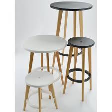 table haute ronde cuisine chambre table haute cuisine bois table de bar ronde design blanche
