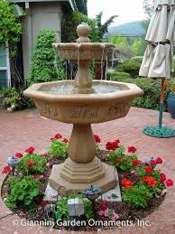 garden fountains mediterranean patio san francisco by