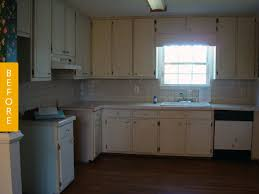 before u0026 after a rental kitchen gets a landlord friendly upgrade