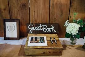 rustic wedding albums rustic themed wedding guest book guest book alternative vintage