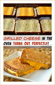 How To Make Grilled Cheese In A Toaster Oven Grilled Cheese In The Oven Joyful Homemaking