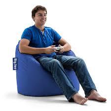 Big Joe Dorm Bean Bag Chair Amazon Com Big Joe Milano Chair Sapphire Kitchen U0026 Dining