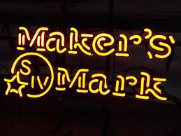 bourbon sign makers bourbon yellow logo classic neon light sign 17 x 13