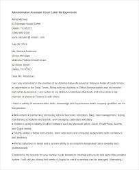 cover letter administrative assistant no experience best