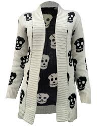 halloween cardigan skull sweater pretty cheap and they also have a cross one too