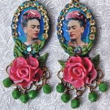 frida earrings ear 34 frida kahlo bottle cap earrings bottle colors and