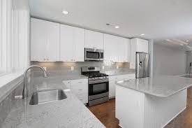 Subway Tile Kitchen Backsplash Ideas Blue Gray Subway Tile Backsplash And White Mexican Kitchen Living