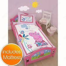 My Little Pony Toddler Bed Peppa Pig Bed Ebay