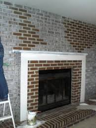 red brick fireplace makeover ideas u2014 jburgh homes easy brick
