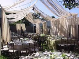 backyard wedding ideas fabulous white sheer canopy curtain for beautiful backyard wedding
