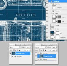 create blueprints create a realistic blueprint image from a 3d object