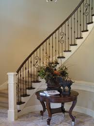 Iron Banister Wood Staircases With Iron Balusters