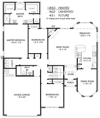 european style house plan 3 beds 2 00 baths 1850 sq ft plan 424 366