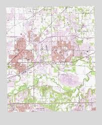 hurst map hurst tx topographic map topoquest