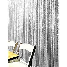 Silver Sparkle Shower Curtain Amazon Com B Cool Silver Sequin Backdrop 7ftx7ft Photography
