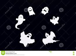 halloween background images happy halloween background with frame of ghost cut out of paper