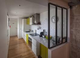 idee cuisine en l modele de cuisine couloir idée de modèle de cuisine