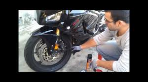 cbr600rr front brake replacement youtube