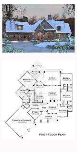 Cottage Plans With Garage 117 Best House Plans 2 500 3 000 Sq Ft Images On Pinterest