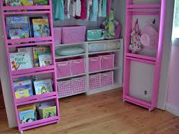 Bookcase Closet Doors White Closet Door Storage Diy Projects