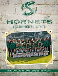 2012 sacramento state softball media guide by hornet sports issuu