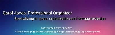 a jones for organizing carol jones professional organizer