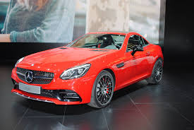 jeep mercedes red mercedes amg slc 43 powerful machine