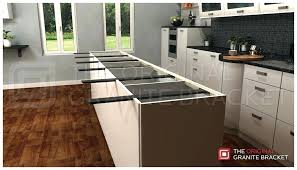 how to install kitchen island how to install island countertop how to install a kitchen island