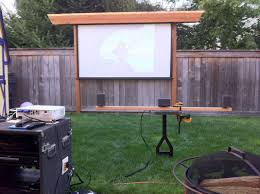 Backyard Home Theater Backyard Projector Home Outdoor Decoration
