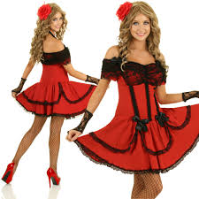 Spanish Dancer Halloween Costume Mexican Senorita Fancy Dress