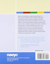 healthy young children a manual for programs susan s aronson