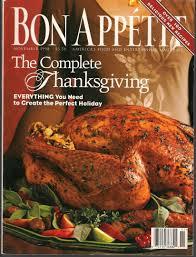buy bon appetit magazine november 1998 the complete thanksgiving