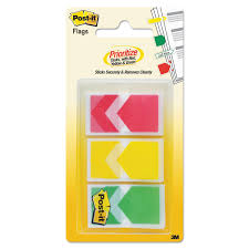 Green Yellow Red Flag Arrow 1