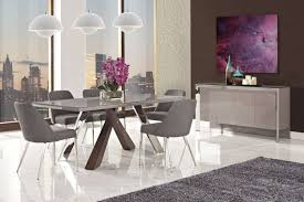 White Dining Room Buffet Vanda Dining Table 6 Chairs Buffet Creative Furniture