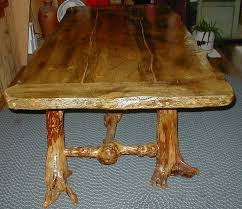 Log Dining Room Table Rustic Log Furniture Rustic Log Bar Stools Barstools Rustic