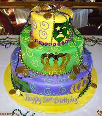 mardi gras cake baby torrance bakery