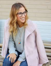 cupcakes and cashmere how to wear a pink coat for fall something about that