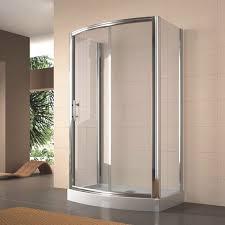 glass shower cubicle rectangular with sliding door stella k