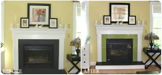 Diy Fireplace Cover Up Fall Home Improvement Idea Freshening Up Your Fireplace Homes Com