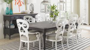 Coastal Dining Room Sets Beach Themed Coffee Table Nautical Tables Palm Spindle Black Salem