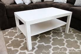 Ikea White Side Table White Lack Coffee Table Writehookstudio