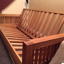 solid wood futon frame diy futon bed frame bed and shower how to fix futon bed frame