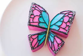 butterfly cake make a cool butterfly cake with just two cuts a frosting
