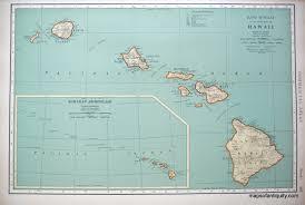 Molokai Map Antique Maps And Charts U2013 Original Vintage Rare Historical
