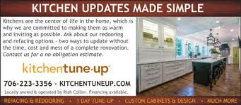 Tune Up Estimate by Kitchen Tune Up Columbia County Magazine