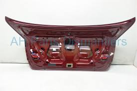 lexus es 350 rear bumper replacement buy 575 2007 lexus es 350 deck lid rear trunk burgundy 64401