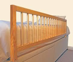 wooden bed rails safetots extra wide wooden bed rail natural safetots co uk